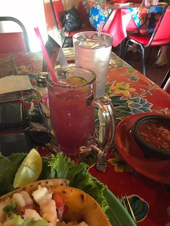 Mesilla, NM: mixed drink