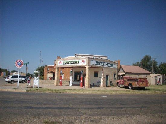 Shamrock, Τέξας: Old Magnolia Service Station