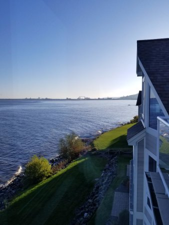 Beacon Pointe Resort: View from rooftop patio