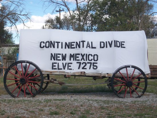 ‪‪Continental Divide‬, نيو مكسيكو: Continental Divide in New Mexico.‬