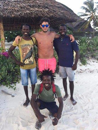 Clubviaggi Resort Twiga Beach & SPA: I migliori Beach Boys Jimmy, Roberto di Kenya e Pippo