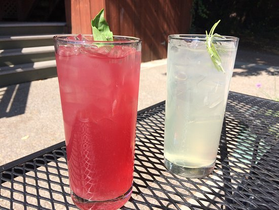 Sandpoint, ID: Beet & Basil Lemonade and Vanilla & Rosemary Lemonade