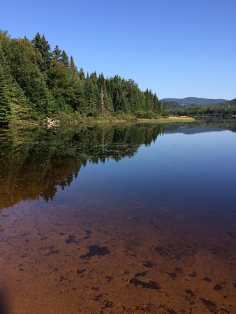 Mont-Tremblant National Park, Canada: View on Lake Monroe