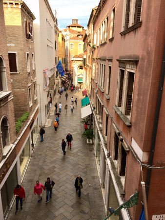 Hotel a La Commedia: View from our room.
