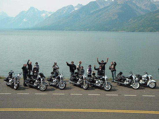 ride free motorcycle tours  Ride Free Guided Strugis Yellowstone Motorcycle Tour - Picture of ...