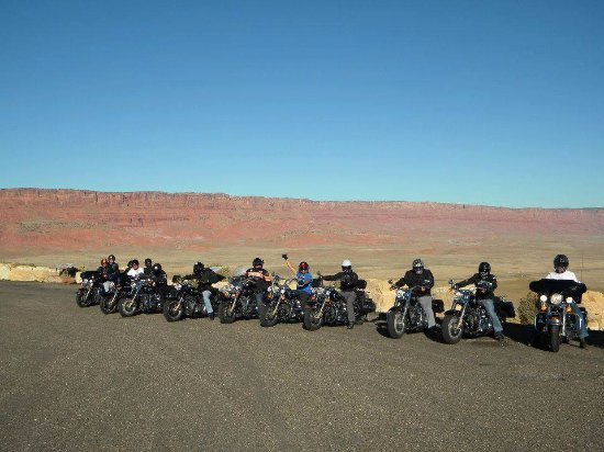 ride free motorcycle tours  Route 66 Guided Motorcycle Tour RIDE FREE - Picture of Ride Free ...