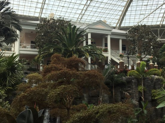 Gaylord Opryland Resort Gardens: Interior of the Delta Section at Opryland Resort
