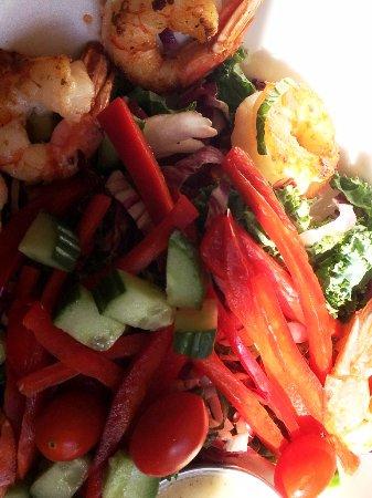 Lake Bluff, IL: salad (october)