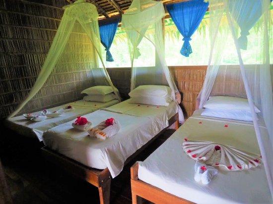 Gizo, جزر سليمان: family bungalow