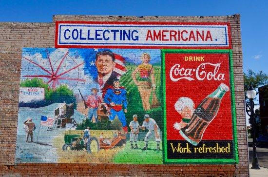 Blackfoot, ID: Collecting Americana Wall Mural