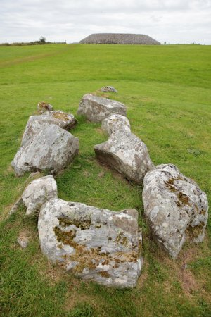 Carrowmore Megalithic Cemetery: Tomb 56 dolmen circle