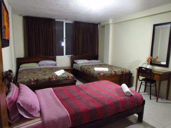 Hotel juanambu desde pasto colombia for Habitacion quintuple