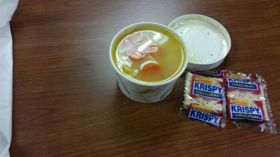 West Hartford, CT: Cup of Chicken Noodle Soup