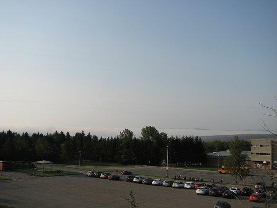 Lac-Megantic, Kanada: Vue partiel sur le lac Mégantic
