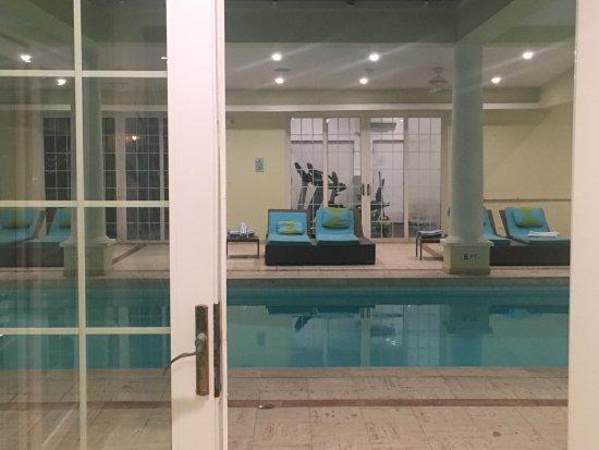 The Indoor Pool And Spa Cambridge Beaches Sandys Parish Tripadvisor
