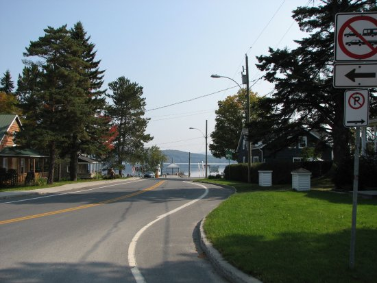 Piopolis, Canada: Vue sur le lac Mégantic