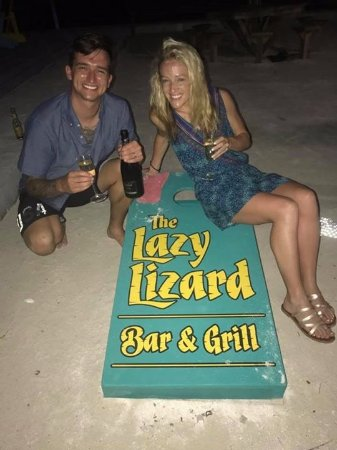 Lazy Lizard: Thank you from the newlyweds--we had a blast!