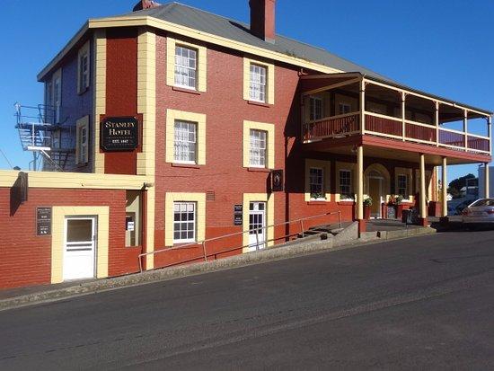 Stanley, أستراليا: Stanley Hotel Bistro