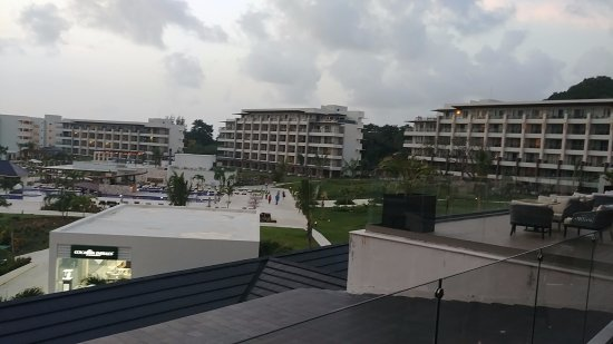 Cap Estate, St. Lucia: view from lobby