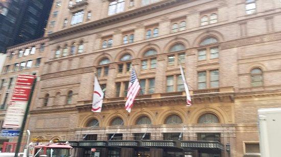 Carnegie Hall: the hall