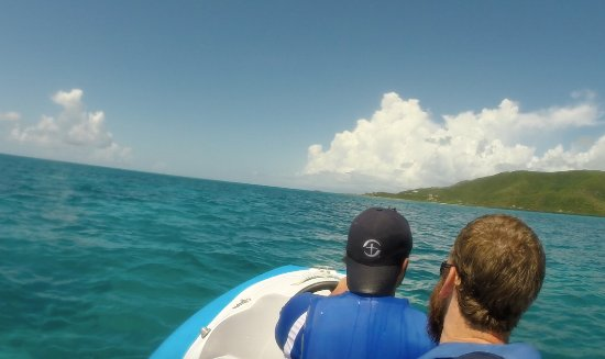 Jolly Harbour, Antigua: The Reef Riders were a blast to ride!