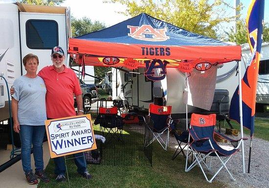 Auburn, AL: Eagle's Landing RV Park
