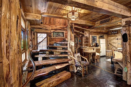 Boulder Junction, WI: Grizzly cabin interior