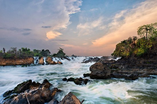 Don Khong, Lào: Khone Phapheng Waterfalls - 4000 islands - southern Laos -