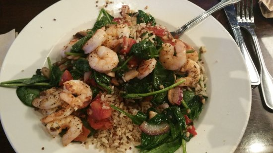 Greenwood, IN: shrimp quinoa