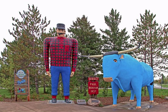 Bemidji, MN: One of the Great Folklore Icons