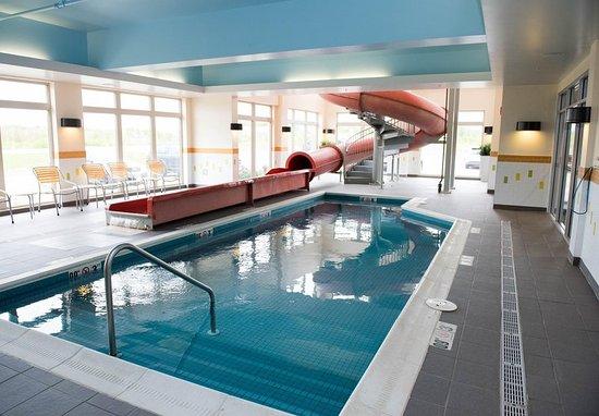 Fairfield Inn Suites By Marriott Moncton Pool And Waterslide