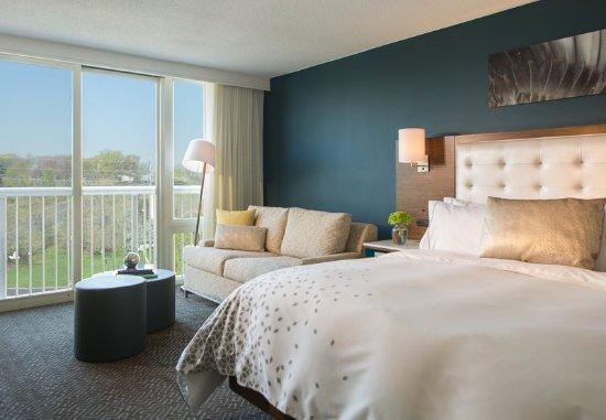 รัทเธอร์ฟอร์ด, นิวเจอร์ซีย์: Club Level King Guest Room
