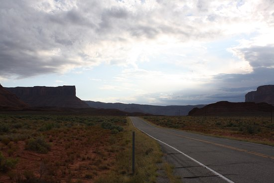 Scenic Byway Of Highway 128 Utah United States Top