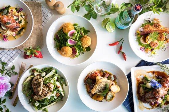 Helensvale, Australia: All new a la carte menu