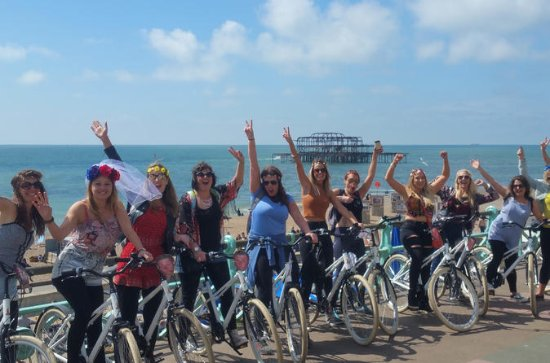 Hen Party Bike-tochten door Brighton