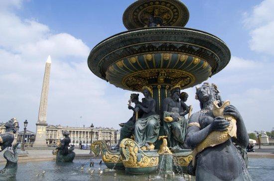 パリの観光ツアー、オランジェリー博物館を含む優先アクセスチケット
