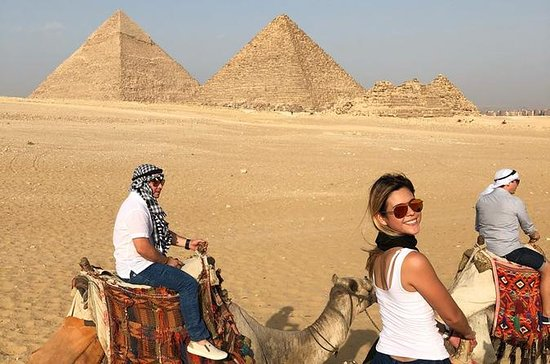 pirámides giza paseo en camello