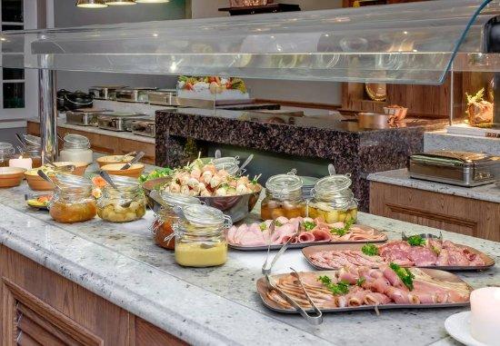 Magaliesburg, Afrika Selatan: Twist Restaurant - Buffet