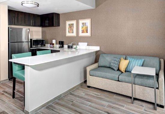 Surfside, FL: Larger King Studio Suite - Living Area