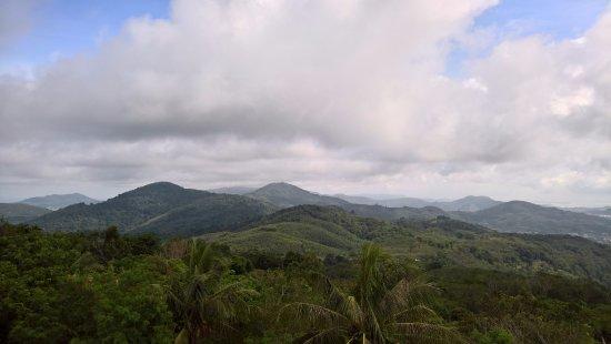 ฉลอง, ไทย: View from the hill top