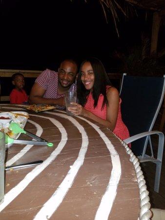 Gio's Restaurant: Larry and Fabiola at Jessica birthday night