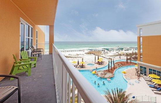 Courtyard Balcony View Hilton Garden Inn Fort Walton Beach