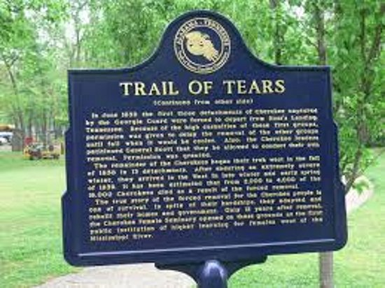 Tahlequah, OK: Cherokee Nation Heritage Center Trail of Tears