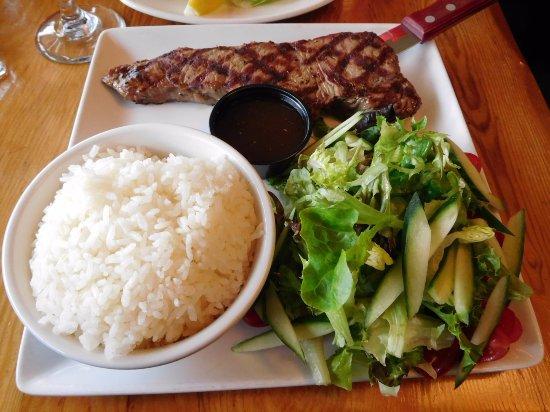 Mountain Restaurant: ステーキ