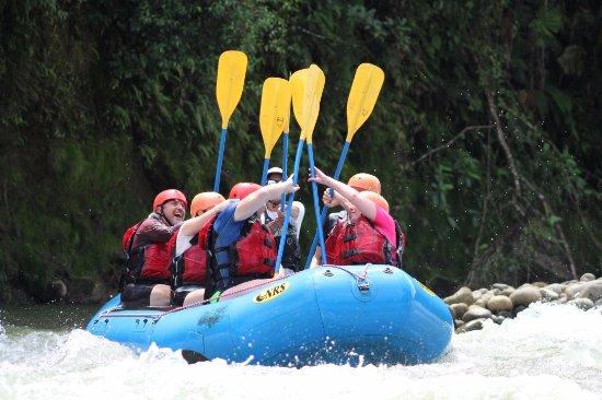Puerto Viejo de Sarapiqui, Costa Rica: High five, Pura Vida!
