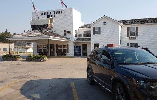 Lusk, WY: Hotel frontage