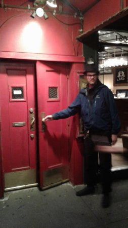 doorman bouncer picture of the village vanguard new york city