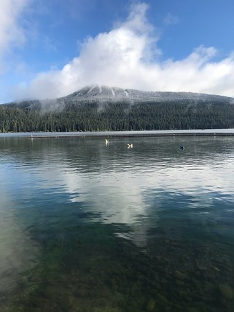 Lac Crescent, OR : Love the spectacular views