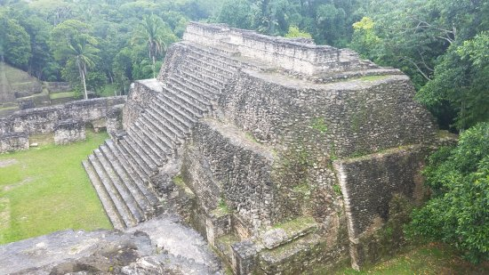 Cayo, Belize: Caracol Mayan Ruins from the Top
