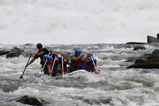 Ocoee, เทนเนสซี: Cherokee Rafting 2017